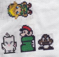 Cross Stitch Dump by CeruleanTempest