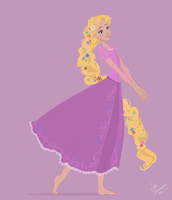 Disney Tangled by SofiBS