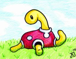 Crayon Shuckle by Foureyedalien