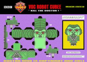Doctor Who - Voc Robot Cubee by mikedaws