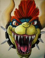 Giga Bowser by pie-lord