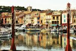 Harbour reflections 2 - Cassis by wildplaces