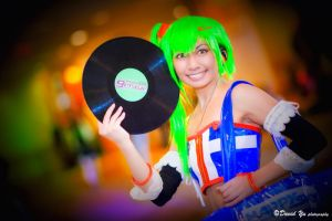 DJ Erika Color Splash by cherryteagirl
