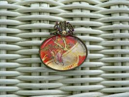 Hong Bao Pendant by magpie-poet
