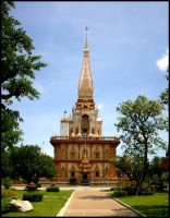 Wat Chalong by ShesABromide