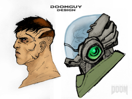 Doomguy Design by NiteOwl94