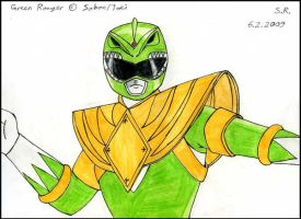 The Green Ranger by Megamink1997