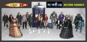 Doctor Who - Action Figures by mikedaws