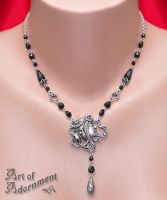 Ophelia Crystal Necklace by Valerian