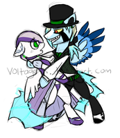 Prom night dance WIP by Voltage-X