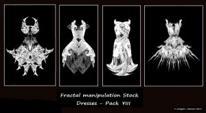 Fractal Stock- Dress Pack VIII by rockgem