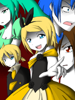 Vocaloid - The Story of Evil by attorneyhoboninja