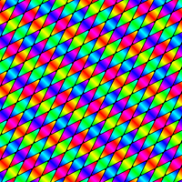 Chromatic Surface Pattern by Humble-Novice