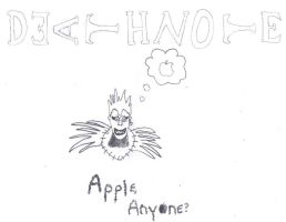 Apple Anyone? Death Note Style by WiltedxBlackxRose