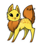 Baby Fructus Vulpes: DiscoCake by Kuro-Creations