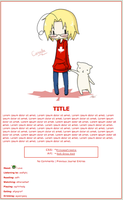 Hetalia Journal Theme Request Series 5 by Firestixian