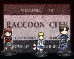 Resident Evil Too by TACHIWANI