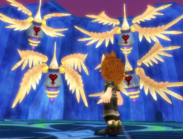 MMD: Fun with KH Fan Models-Angels From the Dark by rubexbox
