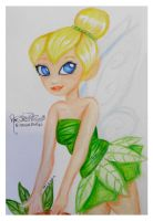 Tinkerbell Drawing by Tanis711