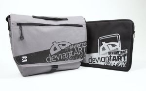 Laptop Messenger + Sleeve by deviantARTGear