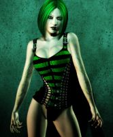 Poisoned Pin Up by Afina79