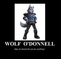 Wolf O'Donnell Poster by FacepalmPunch