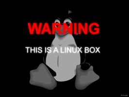 This Is a Linux Box by inkysplat