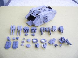 Land Raider - Arsenal by Kukow