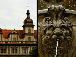 Prague Fountains by Asetskaya