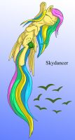 Skydancer Isolated by Starbat