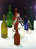 Bottle Still Life by emueller