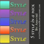 5 style in a pack [3rd style] by amuchan06