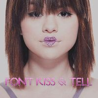 FONT KISS AND TELL by ShineonDemi