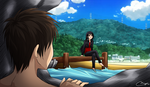 SNK - AQUATIC!AU DOUJIN CHAP. 1 COVER MORNiNG VER. by Vhenyfire
