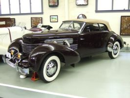 1937 Cord 812 Phaeton by Aya-Wavedancer