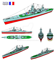 French Guinee-class CA Views by Scryer117