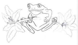Frog and Lillys by Bosssadler