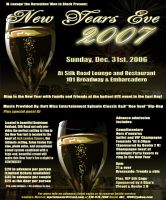 New Years Eve flyer by carlosp