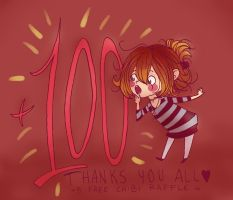 Thanks For +100 Watchers by Tana-Re