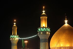 Imam Ali a.s Holy Shrine by kamrannaqvi
