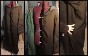 Commission: Custom Harry Potter Robe With Pockets by Antiquity-Dreams