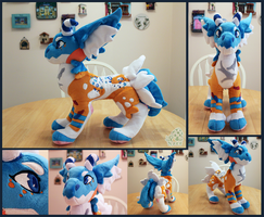 Mantibab Plush: Ovelle by NoxxPlush