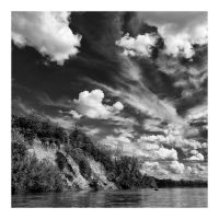 Clouds on the River by klaic