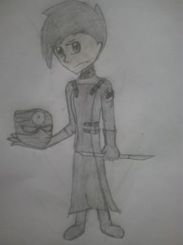 Andy as Nathan/Repo man  by sonicydannyphantom