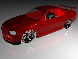 Nissan Skyline R34 GTR WiP by Snipehunter4