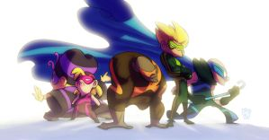 Misfit Supers by TheGreyNinja