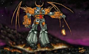 Unicron by lelmer77