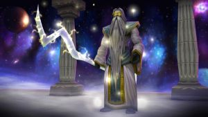 Aman'thul, The Highfather by hipnosworld