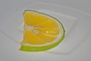 Sliced orange by arulbeni
