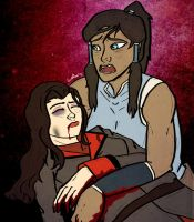 Korrasami Week: Day 1 - Nightmares by StarbuckViper